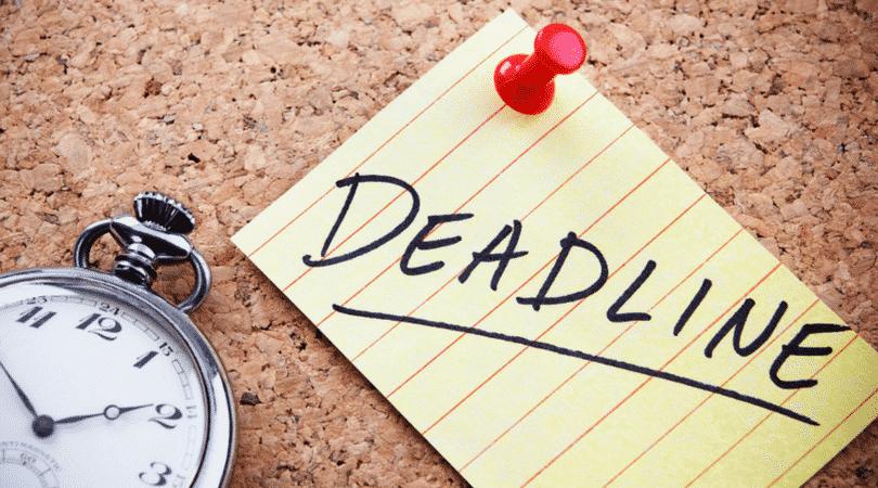 pension deadline