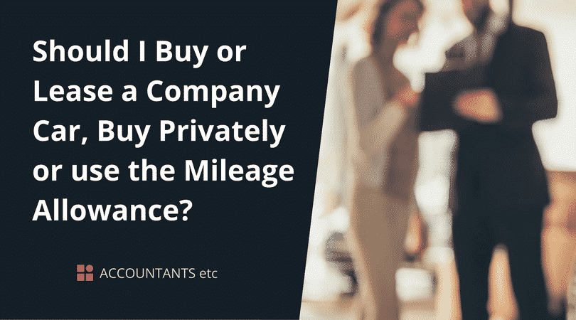buy or lease company car
