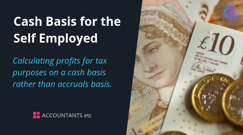 cash basis self employed