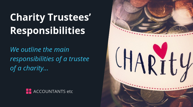 charity trustees responsibilities