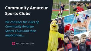 community amateur sports clubs