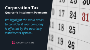 corporation tax quarterly instalment payments