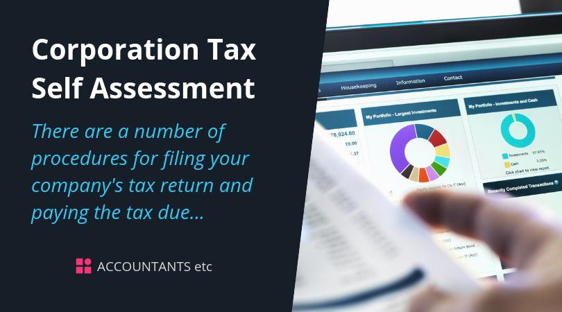 corporation tax self assessment