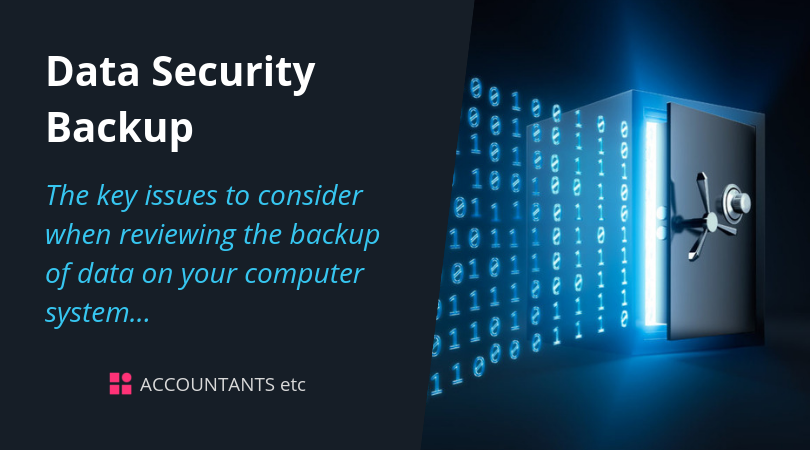 data security backup