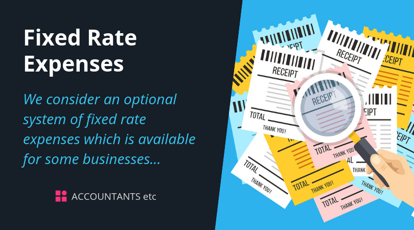 fixed rate expenses