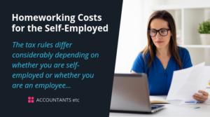 homeworking costs