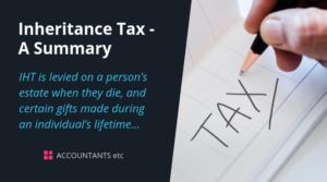 inheritance tax summary