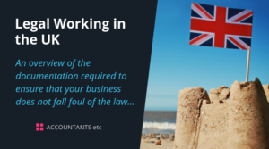 legal working in the uk