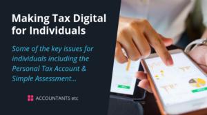 making tax digital for individuals