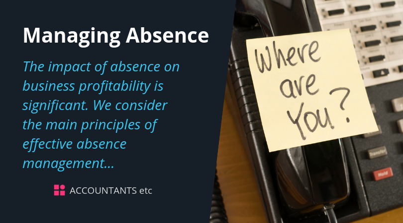managing absence