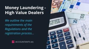 money laundering high value dealers
