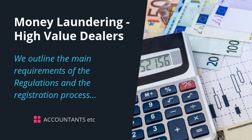 money laundering high value dealers