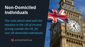 non domiciled individuals