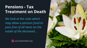pensions tax treatment on death