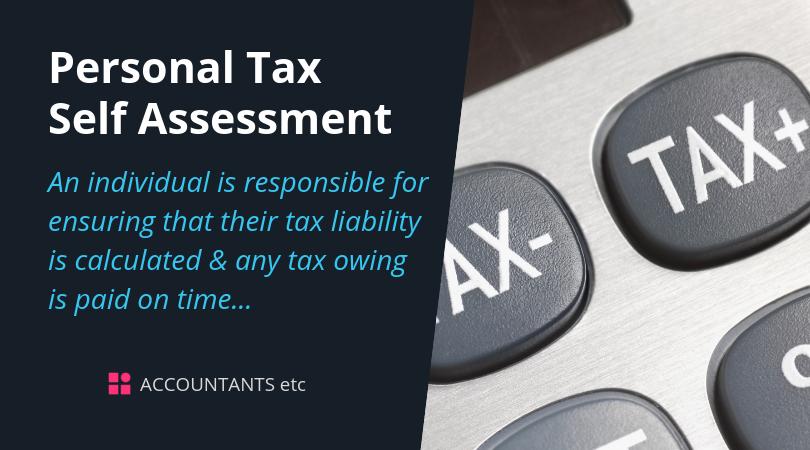 personal tax self assessment