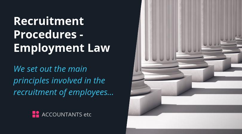 recruitment procedures employment law
