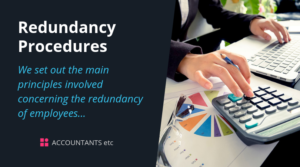 redundancy procedures