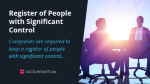 people with significant control register