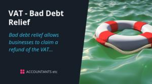 vat bad debt relief