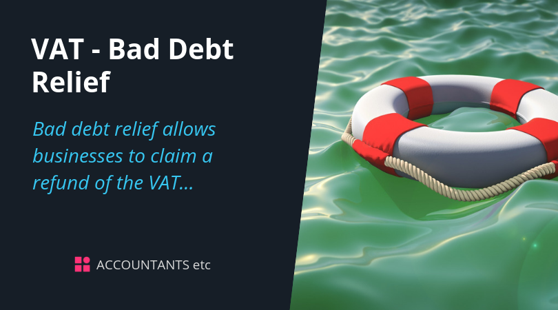 vat bad debt relief