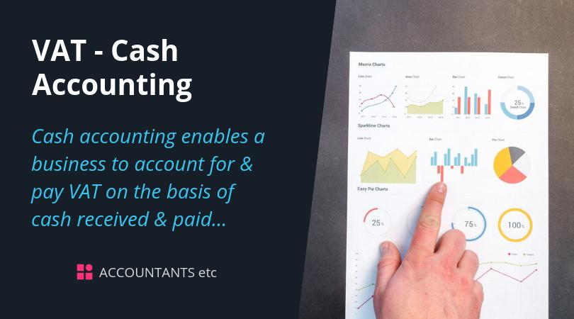 vat cash accounting