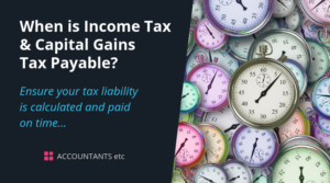 when is income tax payable