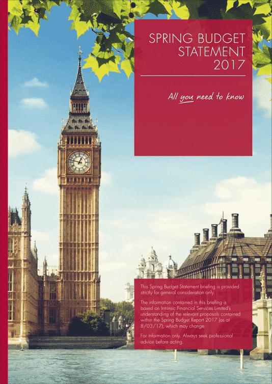 Spring Budget Statement 2017