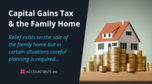 capital gains tax family home