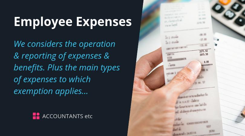 employee expenses