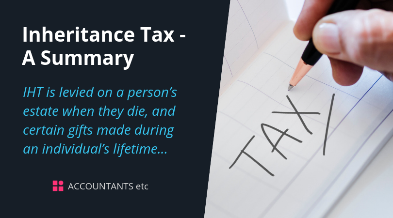 inheritance tax summary
