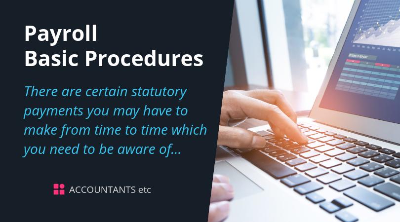 payroll basic procedures