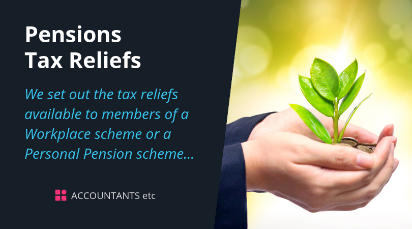 pensions tax reliefs