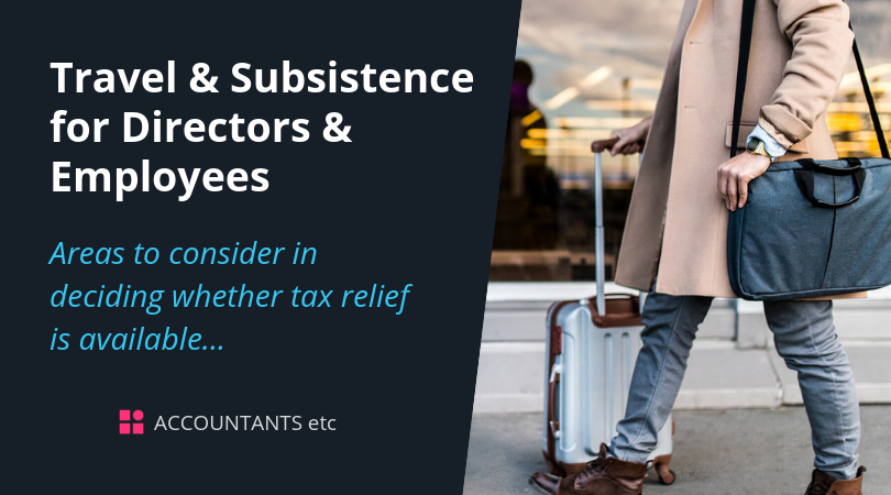 travel subsistence directors employees